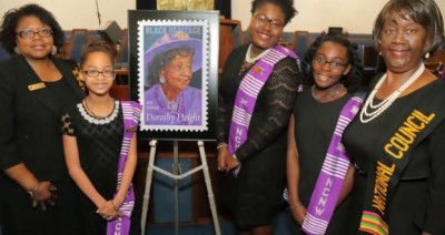 Black Pearls at Dorothy Height Forever Stamp Unveiling