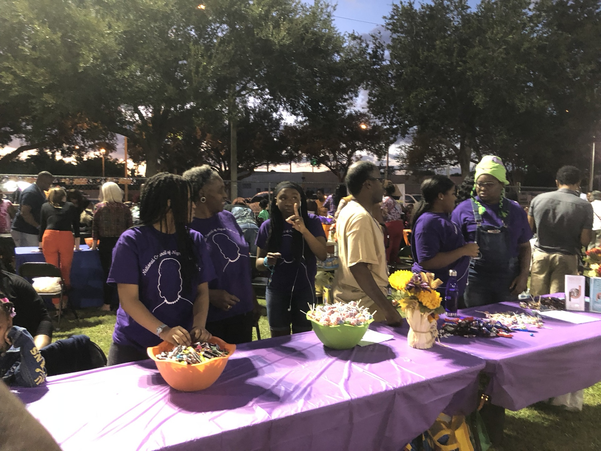 Black Pearls Dishing Out Treats