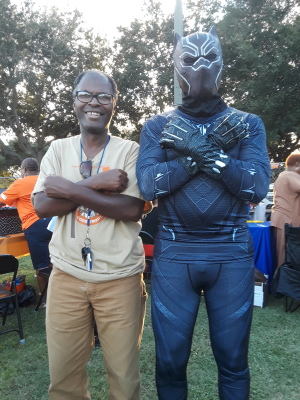 David and Black Panther