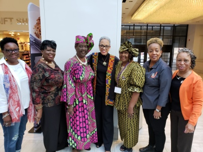 SPMS Members with NCNW National Chair & President Dr. Johnnetta B.  Cole