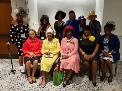 SPMS members at the NCNW 58th National Convention, Washington, DC