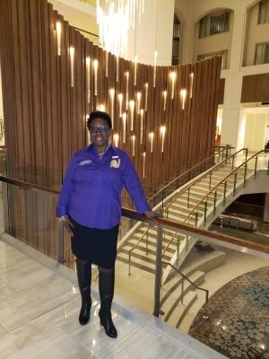 Althea Hudson, Grand Hyatt Lobby