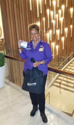 Valerie Williams,  Grand Hyatt Lobby
