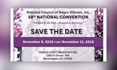 58th National Council of Negro Women, Incorporated Convention