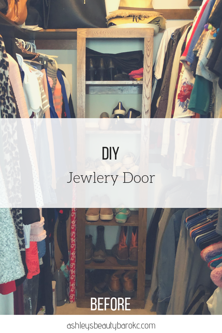 DIY Jewelry Door