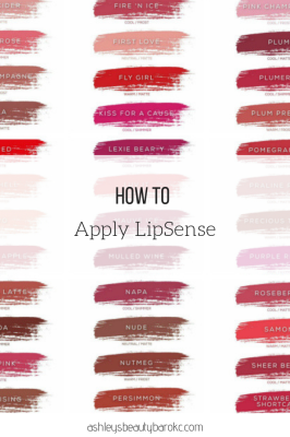 How to apply LipSense