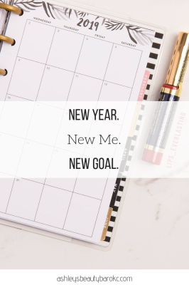 New Year. New Me. New Goal.