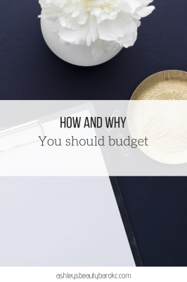 How and why you should budget