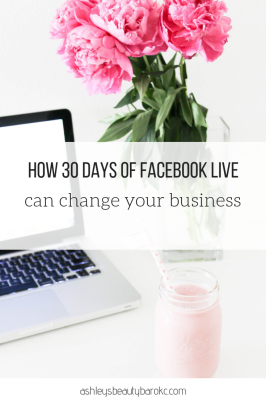 How 30 days of Facebook live can change your business