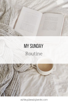 My Sunday Routine