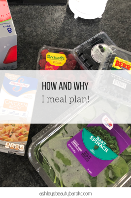 How and Why I Meal Plan