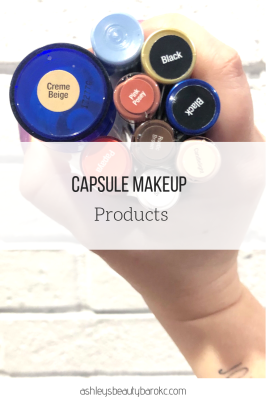 Capsule Makeup Products