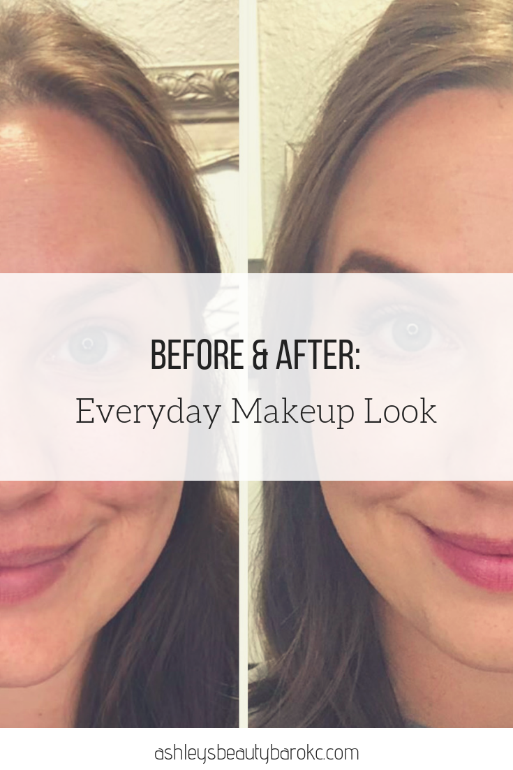 Before & After: Everyday Makeup Look