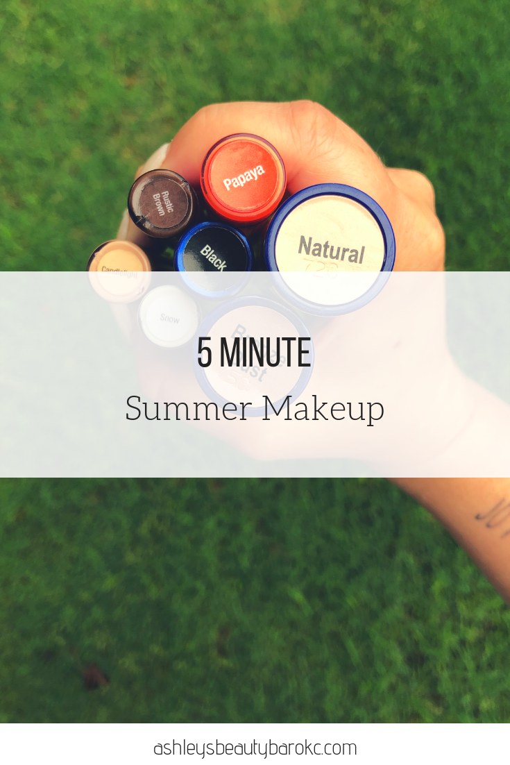 5 Minute Summer Makeup