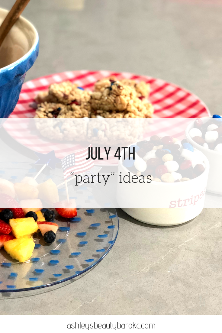 "July 4th ""party"" ideas"