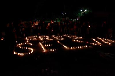 Protest against indefinite detention of Selva