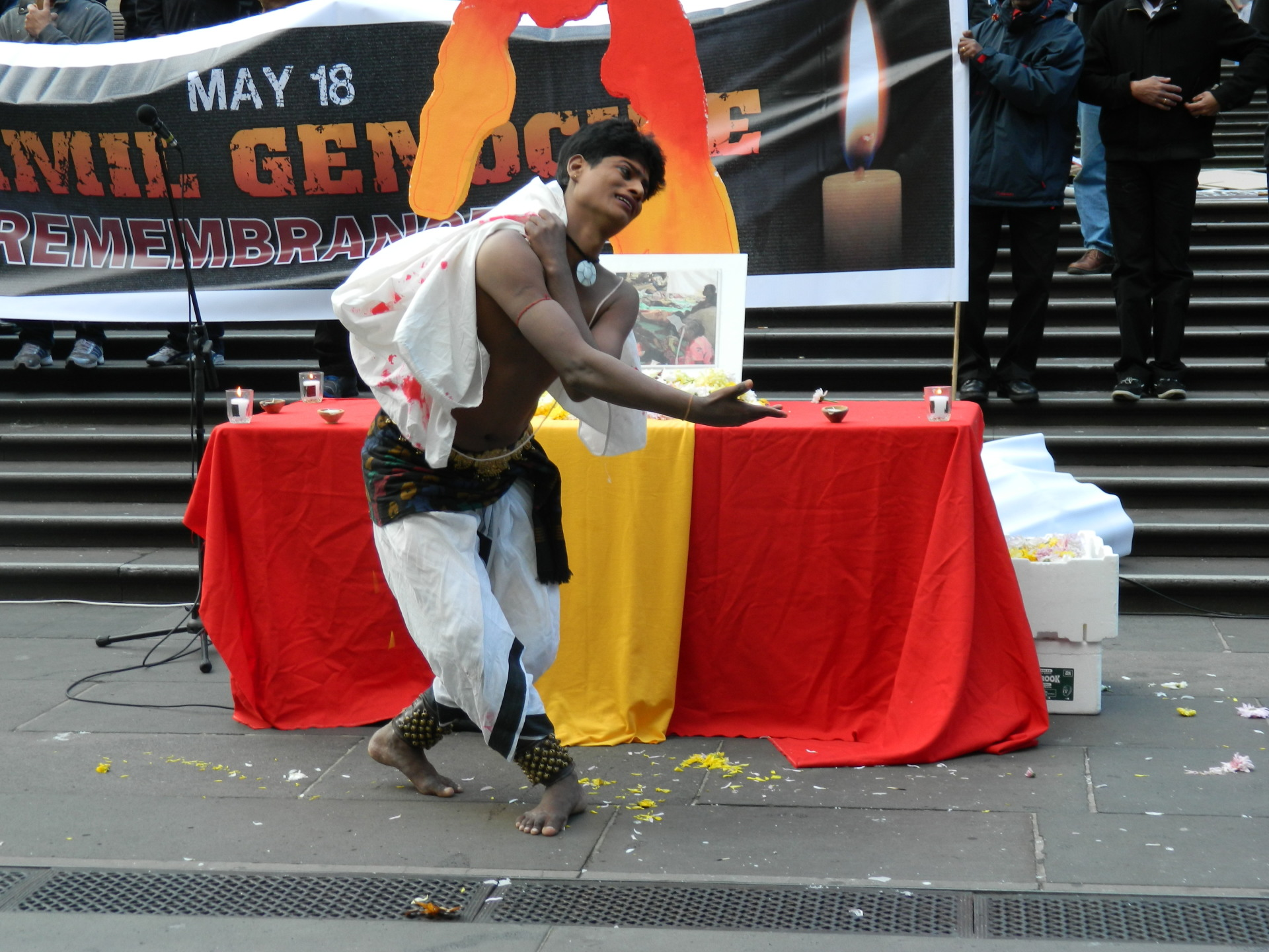 Tamil Genocide Remembrance Day in Melbourne