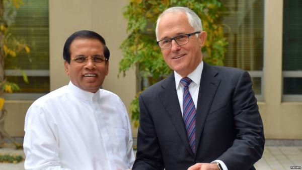 TAMILS' PLEA TO TURNBULL: DON'T HELP SIRISENA GET AWAY WITH GENOCIDE