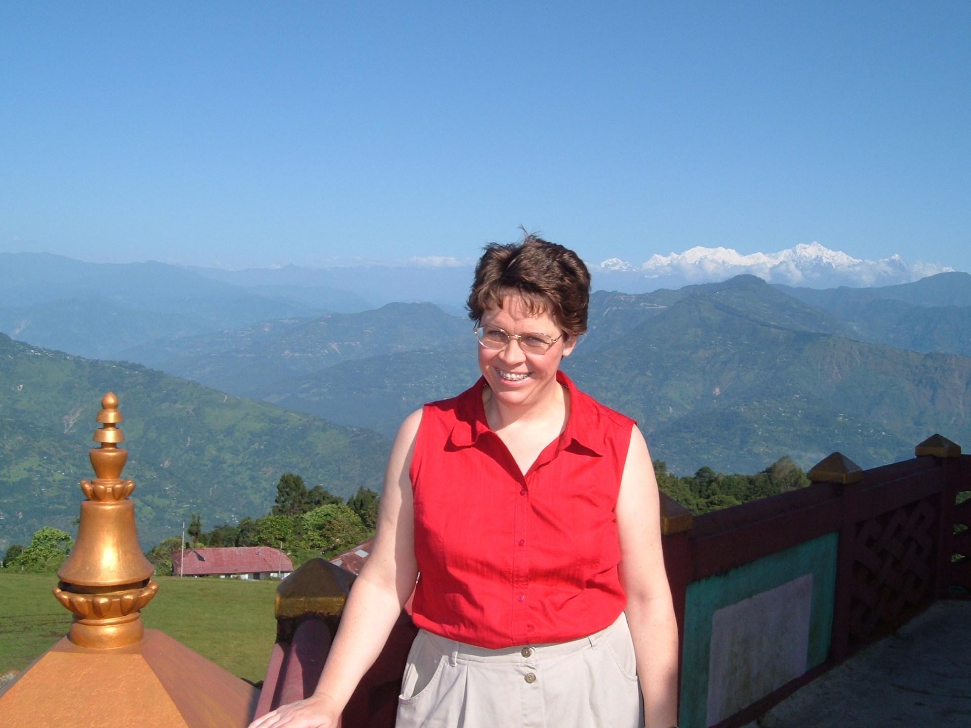 Mt. Kanchenjunga, Himalayas, from Sikkim