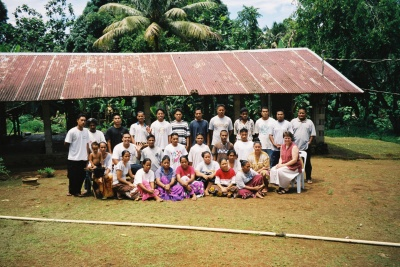 Bible school in Pohpei, Micronesia