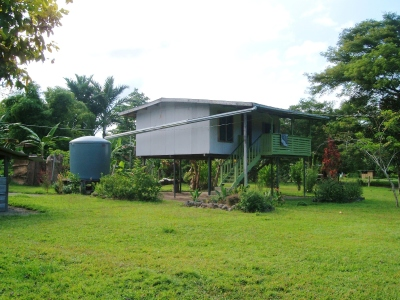 My home in Bougainville, Papua New Guinea