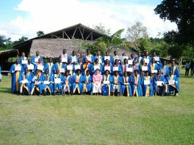 Bible school in Bougainville, Papua New Guinea