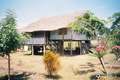 My home in Markham Valley, Papua New Guinea