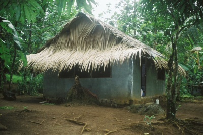My home in Pohnpei, Micronesia