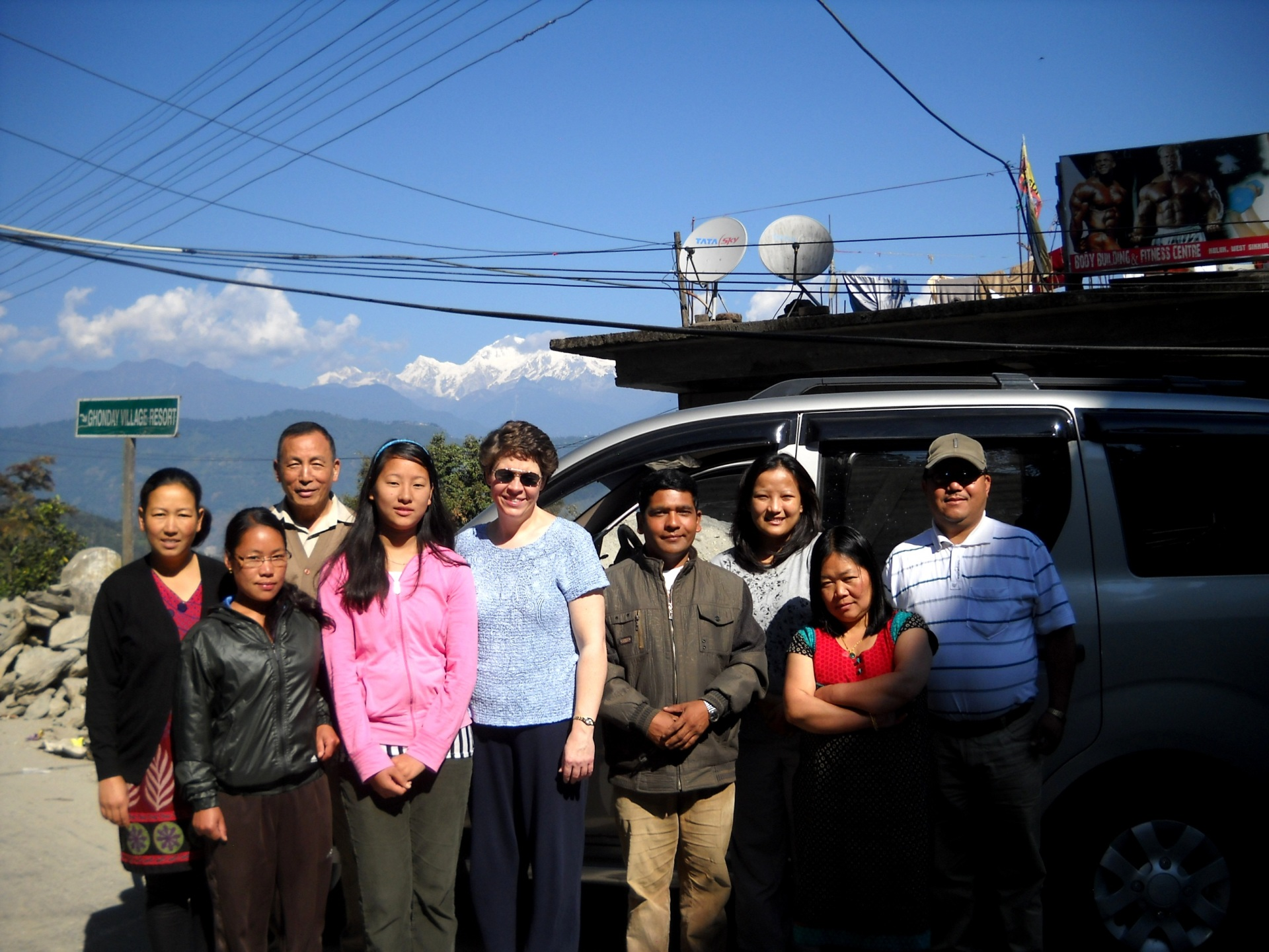 West Sikkim, Mt. Kanchenjunga in the background