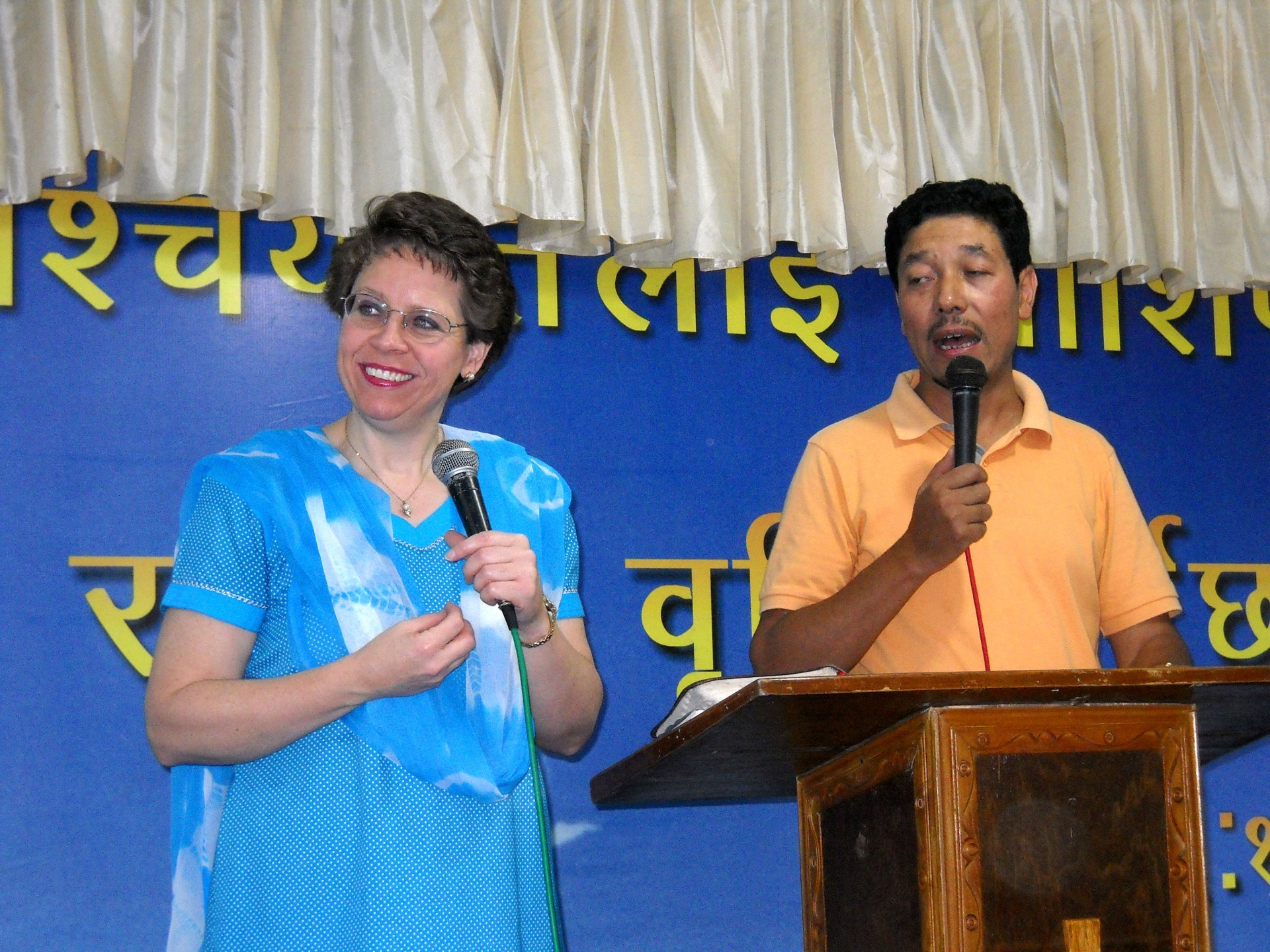 Church conference, Sikkim