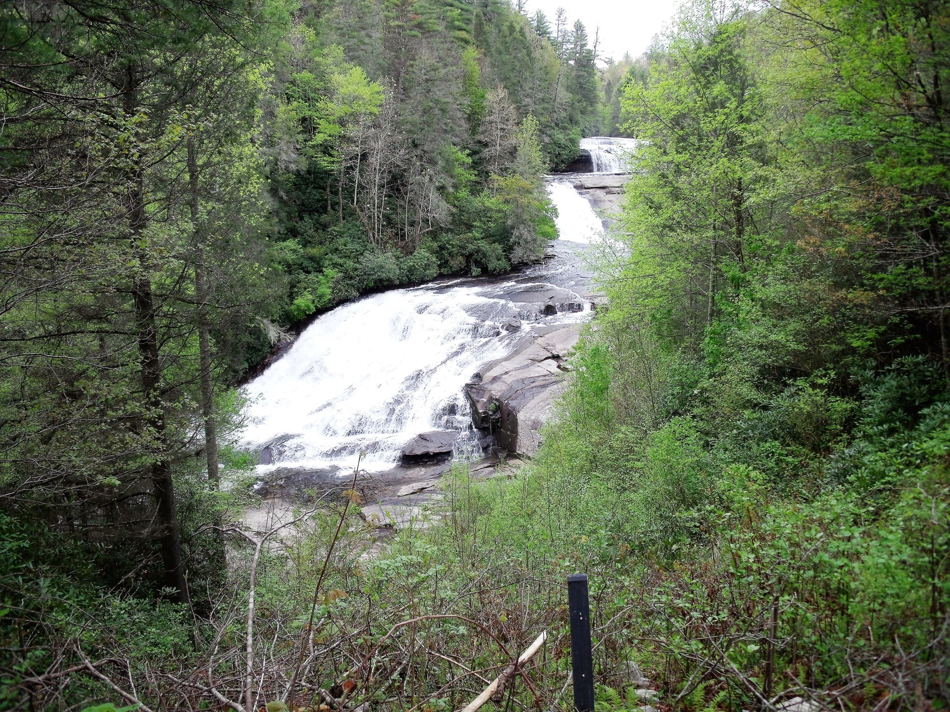 Triple Falls at Dupont State Forest