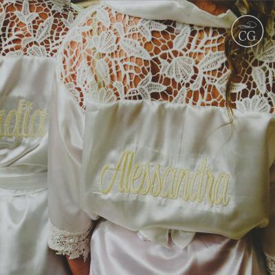 robe roupão casamento debutante