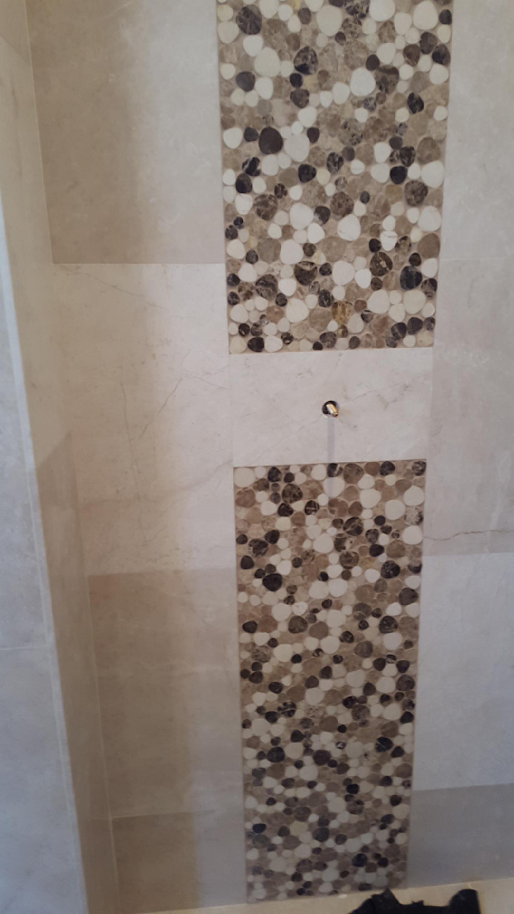 customs shower tile