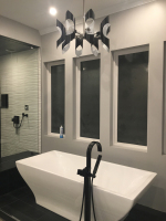 custom bathtub and fixture