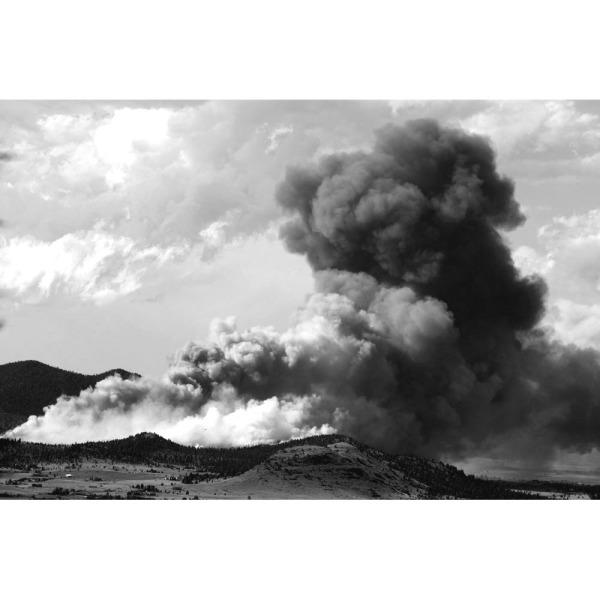 Forest Fire. Helena, Montana