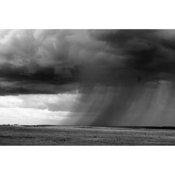 Thunderstorm. Central Montana