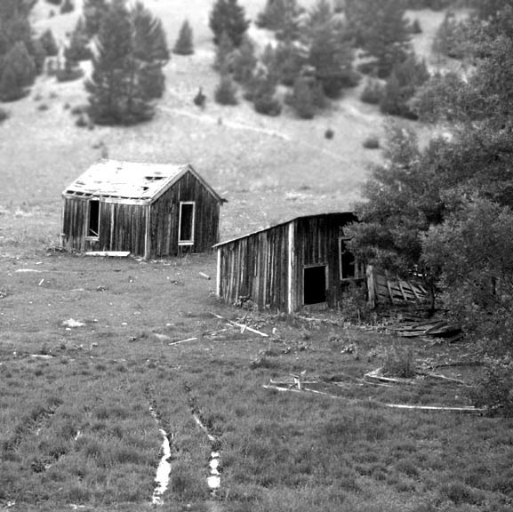 Big Ox mining camp