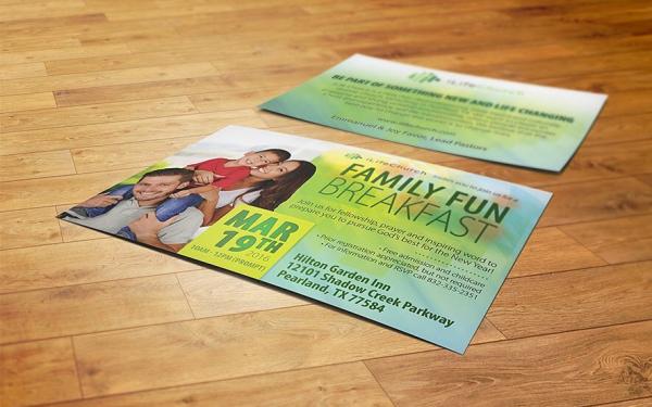 iLife Church Event Flyer