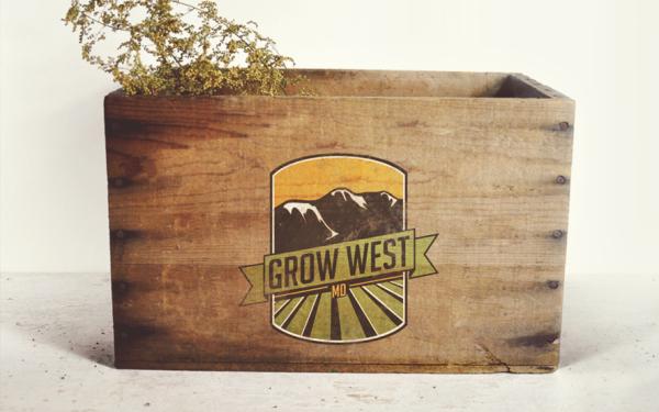 Grow West MD Custom Logo