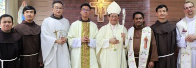 FIRST DIACONATE ORDINATION OF THE OFM MYANMAR FOUNDATION