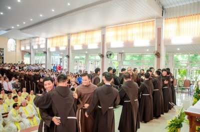 Seven New Brothers Vows Solemnly in Vietnam Franciscan Province