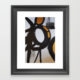 Bold Black & Gold Abstract