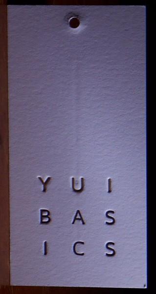 Multi-color letterpress tag