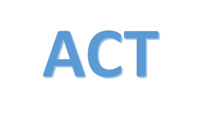 ACT Prep Classes Begin Next Week!