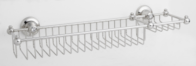 Kensington Wire Shower Rack with Soap Dish