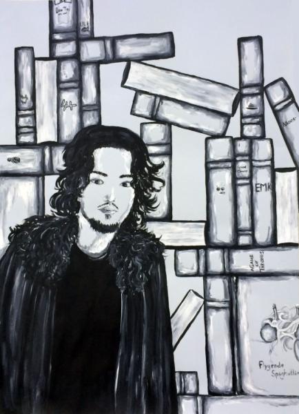 Portrait with Symbols