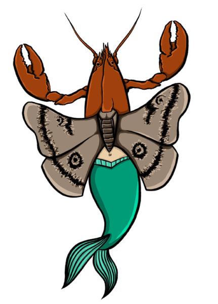 Hummer-Møll-Havfrue