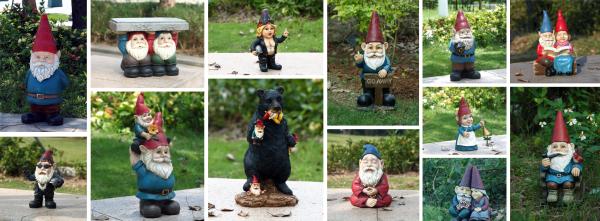 Hi-Line Gift Garden Gnomes