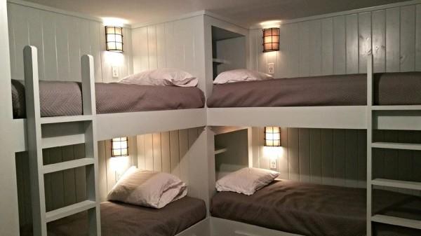 Summer retreat bunkhouse