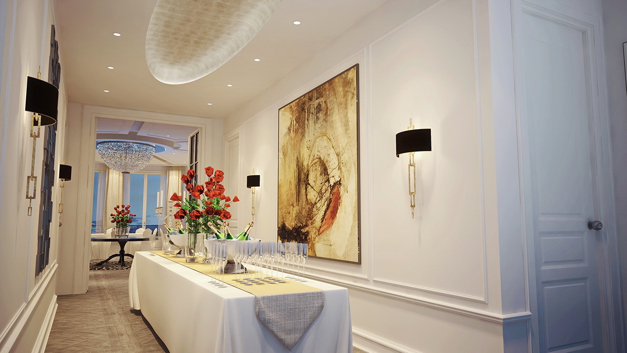 hotel interior design planung